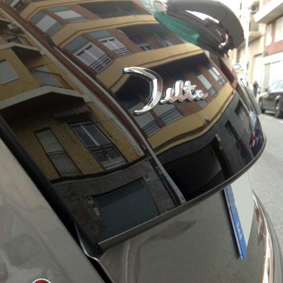 Emblema del Lancia Delta.