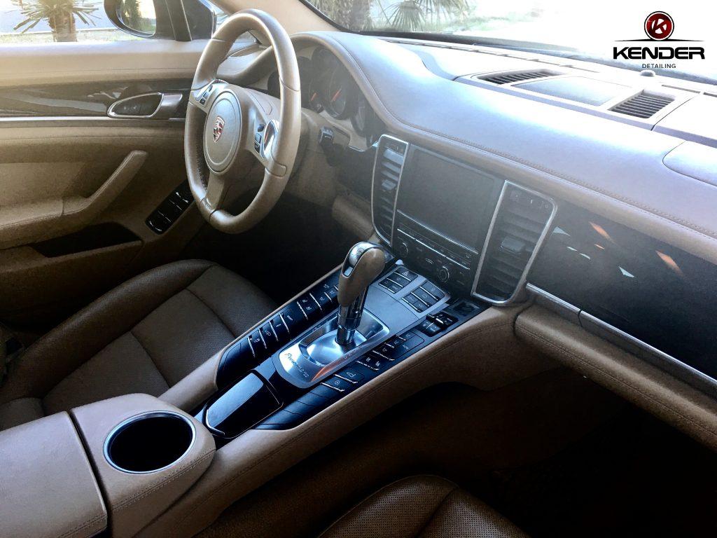Detallado Interior realizado en un Porsche Panamera