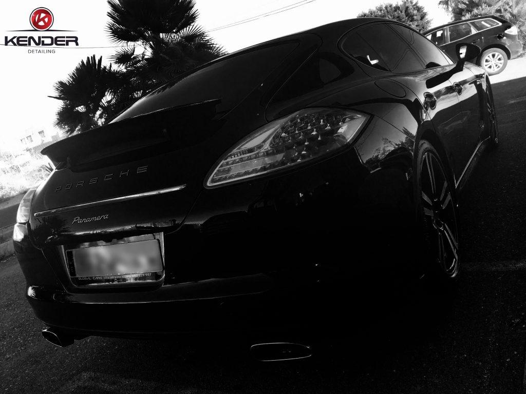 Portada de nuestro artículo sobre el Detallado Completo realizado en este Porsche Panamera